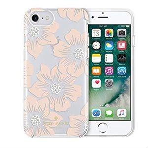 "💐kate spade ""Jeweled Hollyhock Floral"" iPhoneCase"